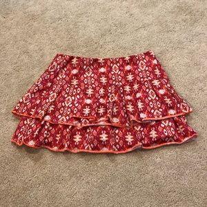 Red Tennis Skirt 🎾